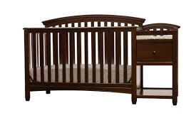 Changing Table Baby by Grey Crib With Attached Changing Table Baby Crib Design Inspiration