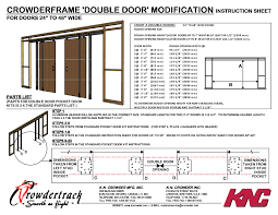 Closet Door Opening Size Opening For Bifold Closet Doors Closet Doors
