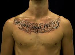 chest lettering ideas for mens http tattooeve com chest