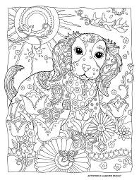 dogs ideal dog coloring pages adults coloring
