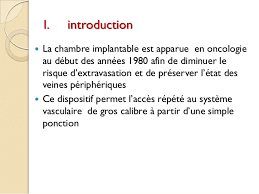 chambre implantable infirmier chambre implantable chimiotherapie