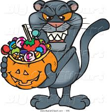 clipart of halloween royalty free stock big cat designs of pumpkins