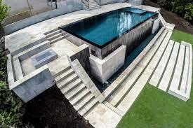 custom pool design by selective designs infinity edge pool design georgia