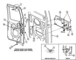 ford e250 rear door cables dodge caravan 3 engine diagram 1996