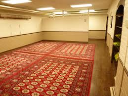 ablution facilities and muslim prayer space