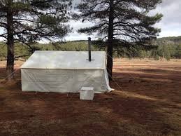 pin by elk mountain tents on canvas tents by customers pinterest