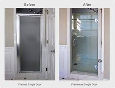 Replacing Shower Door Glass How To Remove Shower Doors Omg Yes I Need This I The Shower