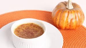 pumpkin creme brulee recipe laura vitale laura in the kitchen