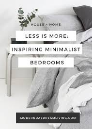inspiring minimalist bedrooms minimalist bedroom minimalist and