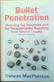bullet modeling the dynamics u0026 the incapacitation