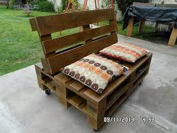 Pallet Sofa Cushions by Pallet L Shaped Sofa For Patio Couch