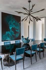 Popular Dining Room Colors Turquoise Gem Deep Turquoise Forms A Popular Color Pair With Navy