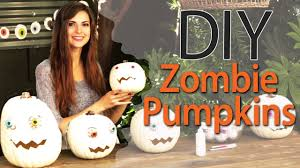 zombie pumpkin carving ideas diy zombie pumpkins for halloween with socraftastic 17nailedit