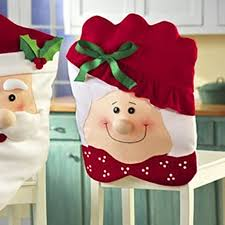 amazon com mr u0026 mrs santa claus christmas kitchen chair covers by