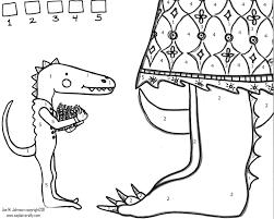 dinosaur coloring sheet the handmade adventures of captain crafty