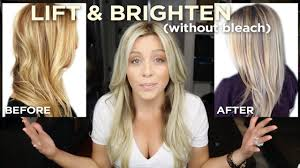best otc hair bleach how to lift and brighten your blonde in one step without bleach