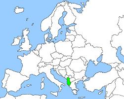 Map Of Albania Circlist Albania