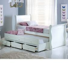 White Wood Daybed With Trundle Bedroom White Wooden Daybed With Trundle 421242922201729 White