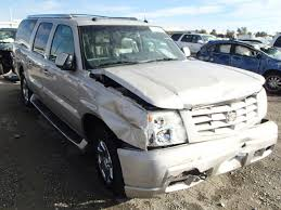 03 cadillac escalade for sale used salvage truck suv parts sacramento