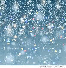 christmas snow background stock illustration 26324871 pixta