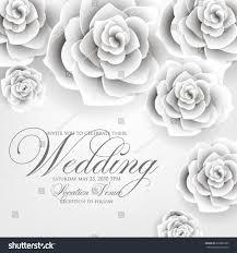 vector paper flower origami rose wedding stock vector 378805783