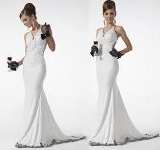 gorgeous silm charm ladies long white dinner dress 2012 sleeveless