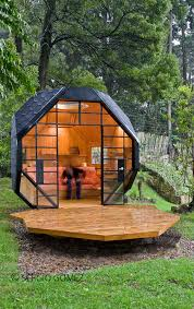 Backyard Fort Ideas with This Geometric Backyard Bunkie Is Both Cozy And Modern U2013 Cottage Life