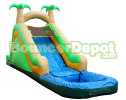 backyard water slide inflatable home outdoor decoration