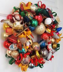 19 truly vintage antique glass ornament wreath glass