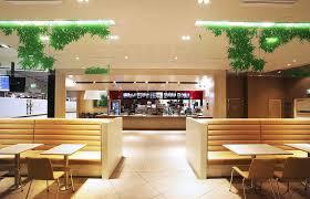 mcdonald u0027s ups the ante with new interior design restaurant