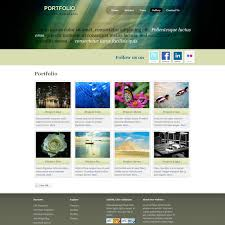 template 234 portfolio