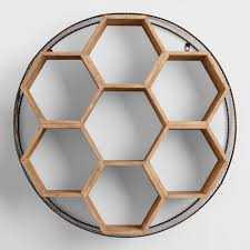 and wood metal and wood honeycomb wall storage world market