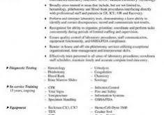 Sample Lab Technician Resume by Stunning Design Lab Tech Resume 4 Medical Laboratory Technician