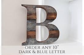 home decor letters rustic home decor farmhouse decor wood letter wall decor letter