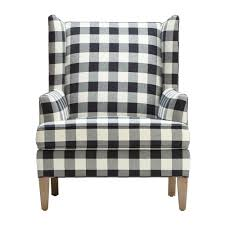 fireside chic a classic wing back chair with a generous dose of