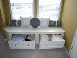 white bench with drawers three drawer storage bench four drawer