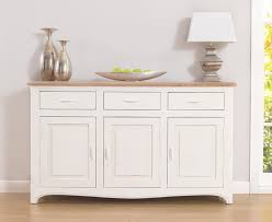 chateau french antique ivory u0026 wood triple sideboard with drawers