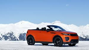 orange range rover 2017 range rover evoque convertible hse color phoenix orange in