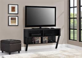 ameriwood furniture layton wall mounted tv stand for tvs up to