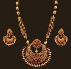 ethnic gold necklace images Top 25 indian antique jewellery designs for women jpg