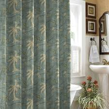 avanti palm tree shower curtains buying palm tree shower curtain