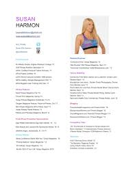 Sample Resume Personal Trainer by Sample Resume For Fitness Instructor Resume For Your Job Application
