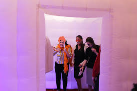 Inflatable Photo Booth Rent An Inflatable Led Photo Booth For Your Next Event
