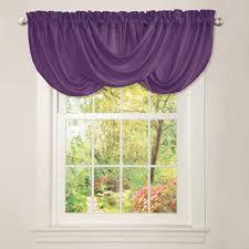 Purple Valances For Windows Ideas Lush Decor Lucia Grey Valance Overstock Com Shopping The Best