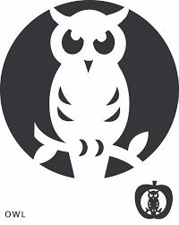 Halloween Owls Elegant Halloween Pumpkin Templates Free Printable 45 For Home