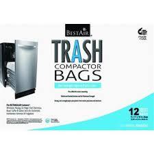Garbage Compactor Bags Pre Cuffed Bestair Trash Compactor Bags 16 U0027 U0027 D X 9 U0027 U0027 W X 17 U0027 U0027 H