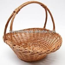 20 best willow baskets images on pinterest flower basket