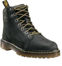 s lace up boots size 9 dr martens sabien mens black leather casual dress lace up boots