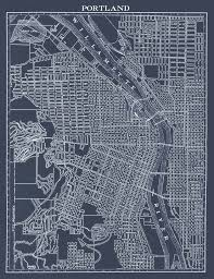 Portland City Maps by 1900 U0027s City Lithograph Map Of Portland