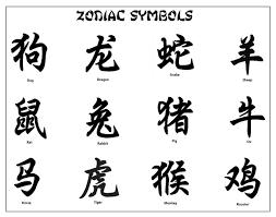 zodiac symbol rat hledat googlem calligraphy